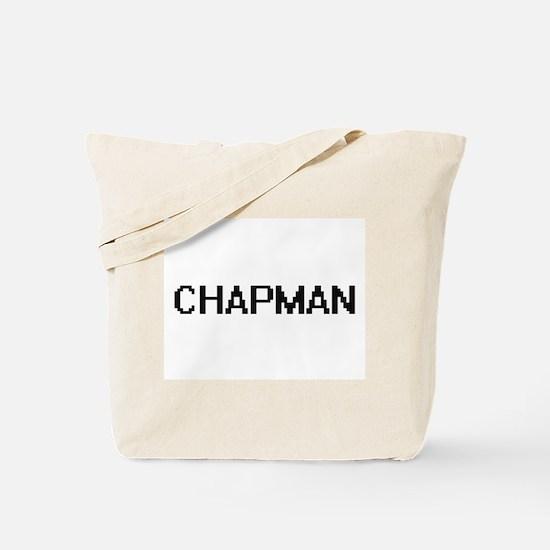 Chapman digital retro design Tote Bag