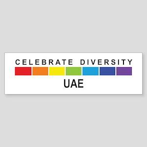 UAE - Celebrate Diversity Bumper Sticker