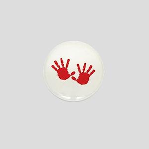 Handprints Mini Button
