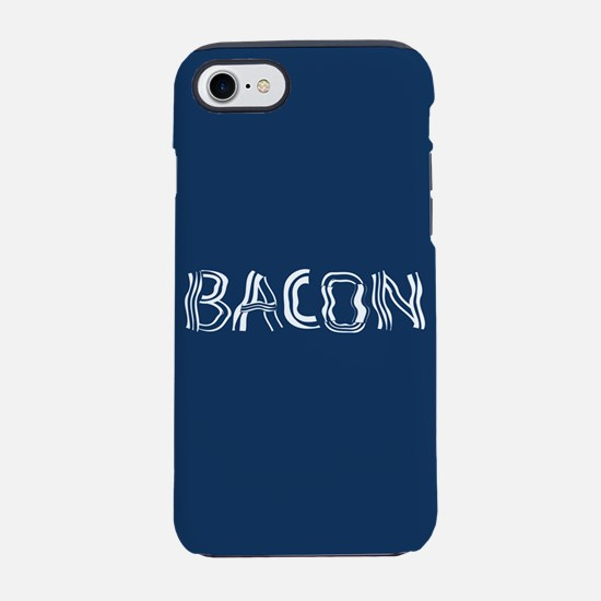 Bacon Typography iPhone 7 Tough Case