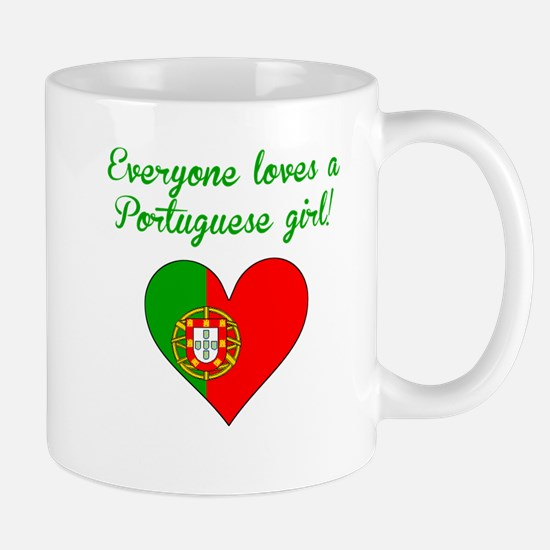 Everyone Loves A Portuguese Girl Mugs