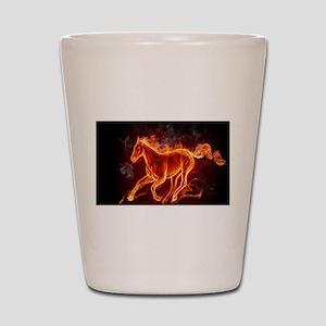 Fire Horse Shot Glass