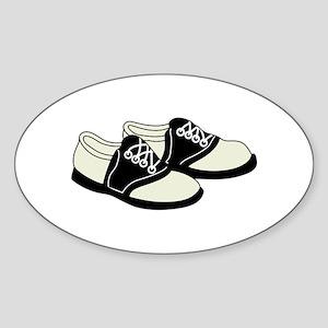 Saddle Shoes Sticker