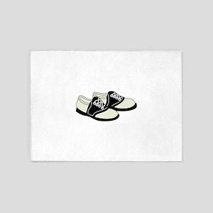 Saddle Shoes 5'x7'Area Rug