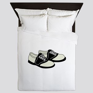 Saddle Shoes Queen Duvet