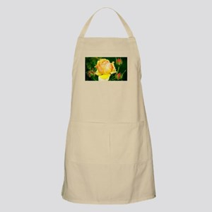Beautiful Yellow and Red Roses Apron