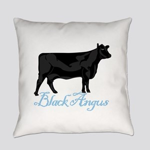 Black Angus Everyday Pillow