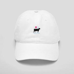 I Love My Black Angus Baseball Cap