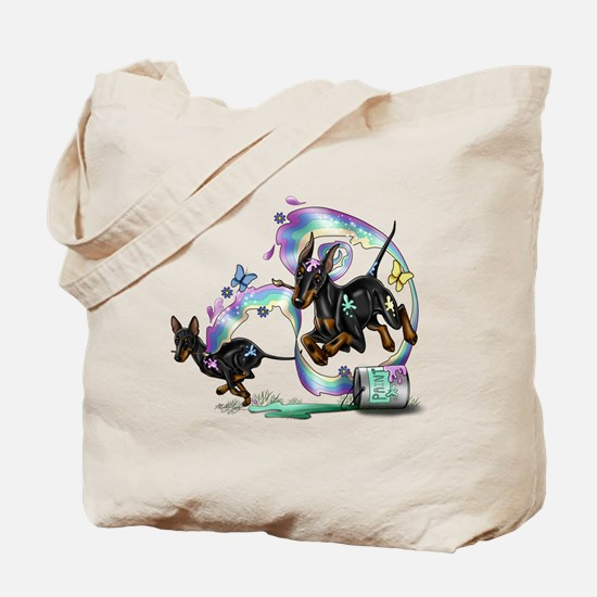 Cute Manchester terrier Tote Bag