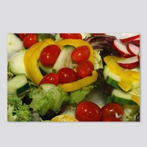 Fresh Garden Salad Postcards (Package of 8)