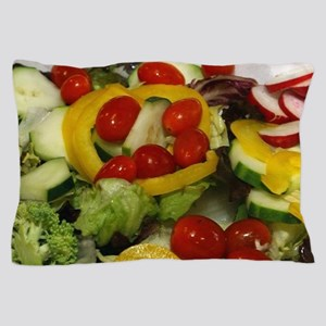 Fresh Garden Salad Pillow Case