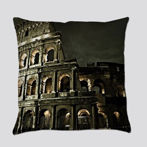 Coliseum At Night Everyday Pillow
