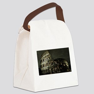 Coliseum At Night Canvas Lunch Bag