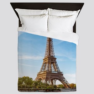 Eiffel Tower Queen Duvet