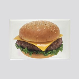 Cheeseburger Rectangle Magnet