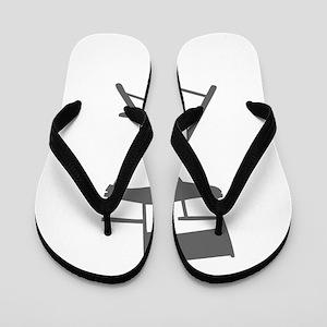 movies film 110-Sev gray Flip Flops