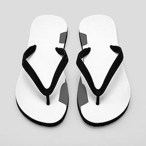movies film 111-Sev gray Flip Flops