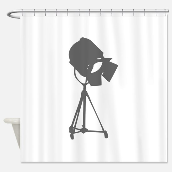 movies film 114-Sev gray Shower Curtain