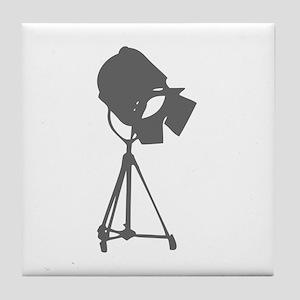 movies film 114-Sev gray Tile Coaster