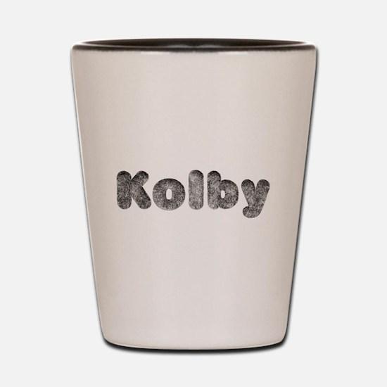 Kolby Wolf Shot Glass