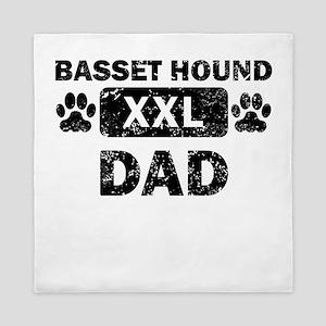 Basset Hound Dad Queen Duvet