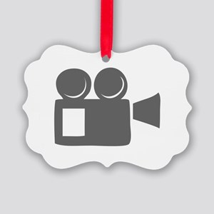 movies film 124-Sev gray Ornament