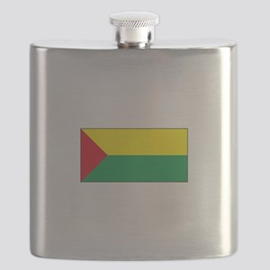 Abejorral, Colombia Flag Flask