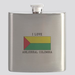 I love Abejorral, Colombia Flask