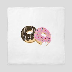 Donut Food Queen Duvet