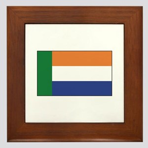 Afrikaner South Africa Framed Tile