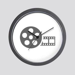 movies film 41-Sev gray Wall Clock
