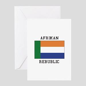 Afrikaans greeting cards cafepress afrikaner rebublic greeting cards m4hsunfo