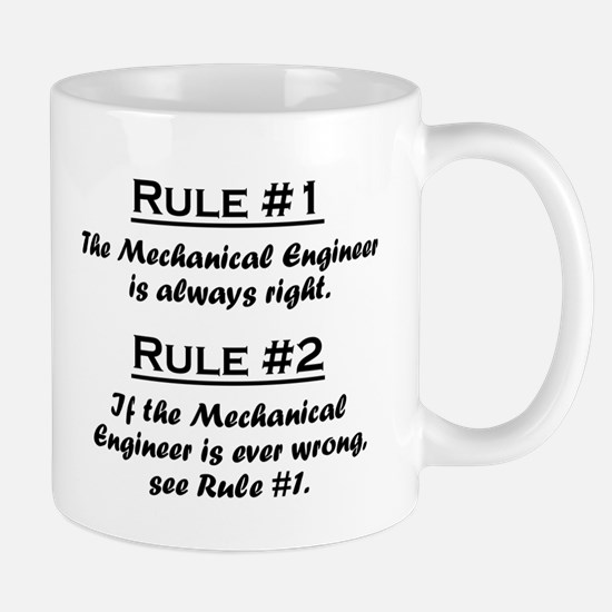 Cute Mechanical engineers Mug