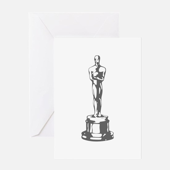 movies film 49-Sev gray Greeting Cards