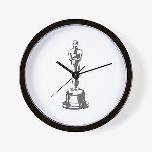movies film 49-Sev gray Wall Clock