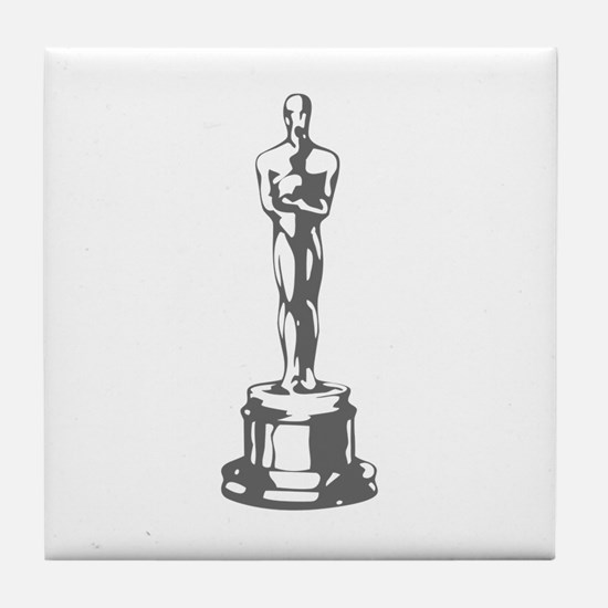 movies film 49-Sev gray Tile Coaster