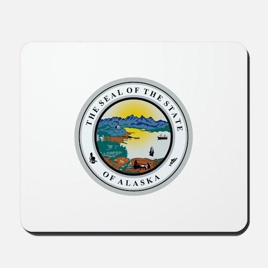 Alaska State Seal Mousepad