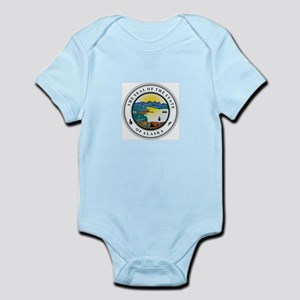 Alaska State Seal Body Suit