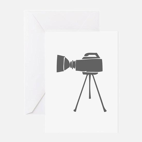 movies film 57-Sev gray Greeting Cards