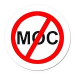 Anti-MOC Round Car Magnet