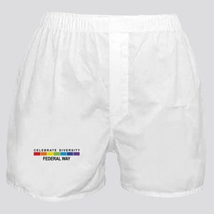 FEDERAL WAY - Celebrate Diver Boxer Shorts