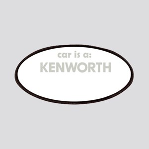 My other car is a Kenwoth Patch