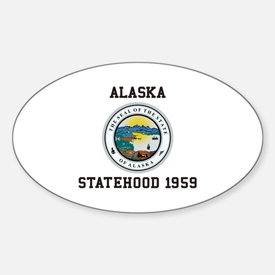 Alaska Statehood 1959 Decal