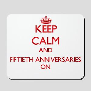 Fiftieth Anniversaries Mousepad