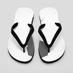 movies film 69-Sev gray Flip Flops