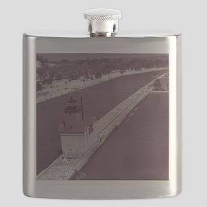 Holland Harbor Lighthouse Flask