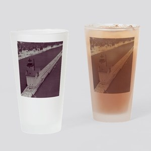 Holland Harbor Lighthouse Drinking Glass
