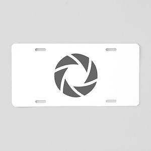 movies film 72-Sev gray Aluminum License Plate