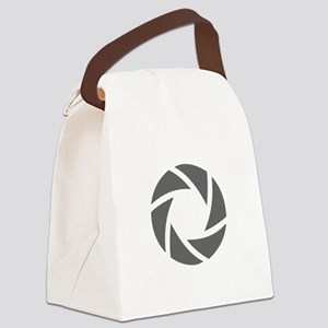 movies film 72-Sev gray Canvas Lunch Bag