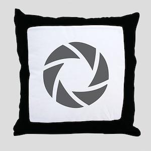 movies film 72-Sev gray Throw Pillow
